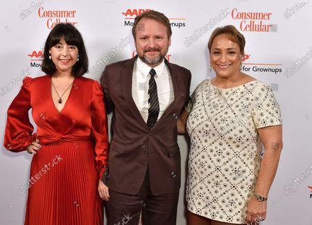 Karina Longworth, Rian Johnson and Jo Ann Jenkins