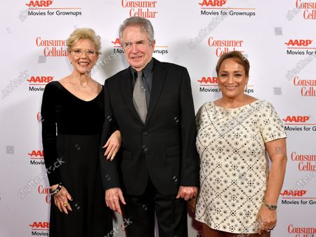 Annette Bening, Warren Beatty and Jo Ann Jenkins