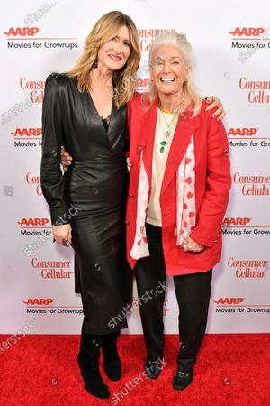 Laura Dern and Diane Lane