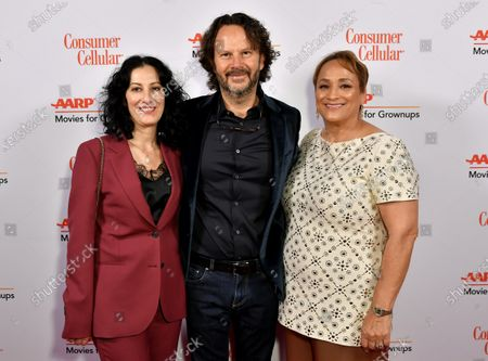 Limor Diamant, Ram Bergman and Jo Ann Jenkins