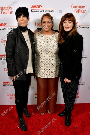 Diane Warren, Jo Ann Jenkins and Frances Fisher