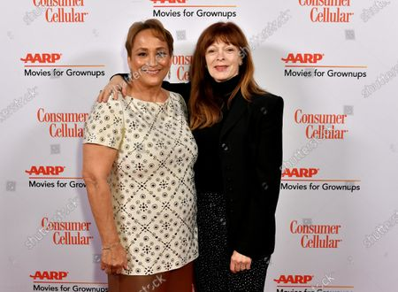 Jo Ann Jenkins and Frances Fisher