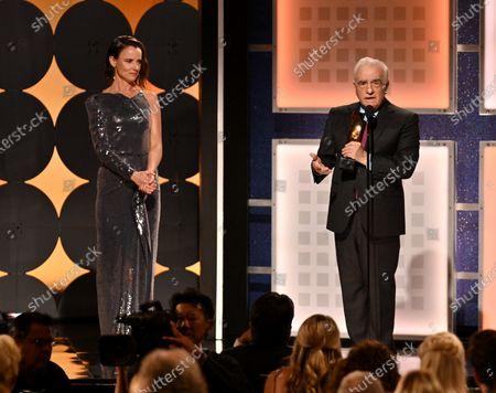 Martin Scorsese - Best Director - The Irishman - presented by Juliette Lewis