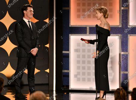Renee Zellweger - Best Actress - Judy - presented by Finn Wittrock