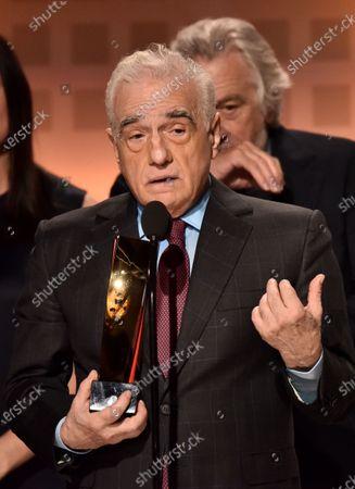 Martin Scorsese and Robert De Niro, Best Movie for Grownups - The Irishman