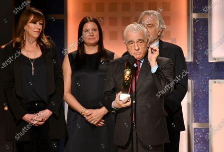 Jane Rosenthal, Emma Tillinger Koskoff, Martin Scorsese and Robert De Niro, Best Movie for Grownups - The Irishman