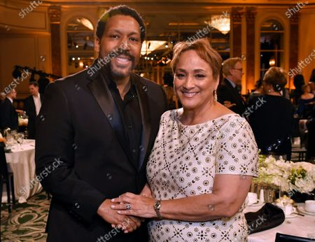 Stock Picture of Khari Wyatt and Jo Ann Jenkins