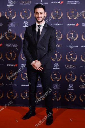 Editorial image of Gold Movie Awards, Arrivals, Regent Street Cinema, London, UK - 09 Jan 2020