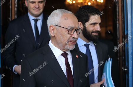 Tunisian President of Parliament Rached Ghannouchi