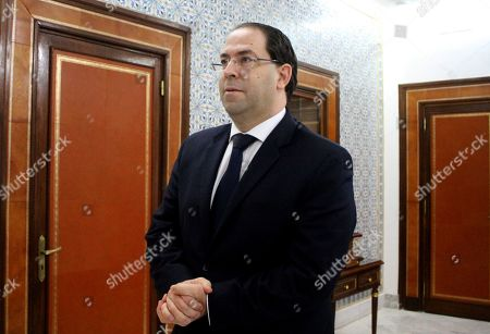 Tunisian Prime Minister Youssef Chahed