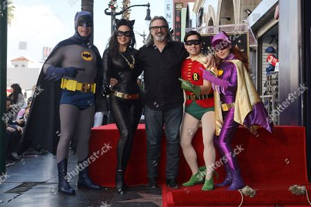 Editorial picture of Burt Ward Honored with a Star on the Hollywood Walk of Fame, Los Angeles, USA - 09 Jan 2020