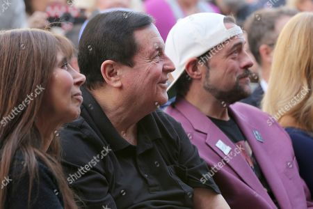 Kathy Garver, Burt Ward, Kevin Smith. Kathy Garver, from left, Burt Ward and Kevin Smith attend a ceremony honoring Burt Ward with a star at the Hollywood Walk of Fame, in Los Angeles