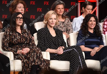 Stacey Sher, Cate Blanchett, Dahvi Waller, Margo Martindale, Tracey Ullman and Sarah Paulson