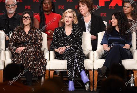 Stacey Sher, Cate Blanchett, Dahvi Waller, John Slattery, Uzo Aduba, Margo Martindale and Tracey Ullman