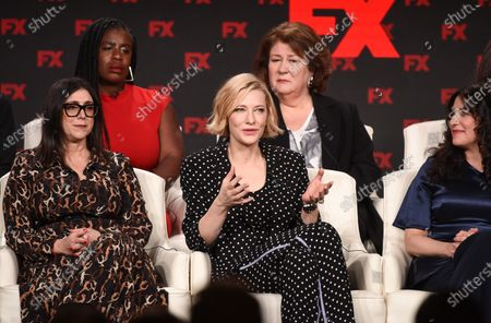 Stacey Sher, Cate Blanchett, Uzo Aduba and Margo Martindale