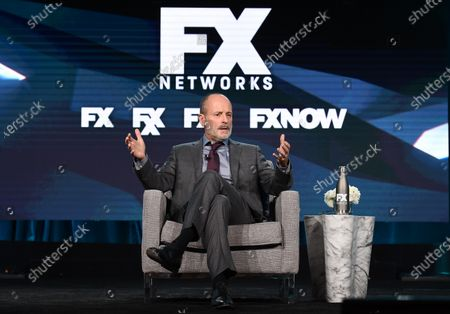 Editorial photo of FX Networks TCA Winter Press Tour, Panels, Los Angeles, USA - 09 Jan 2020