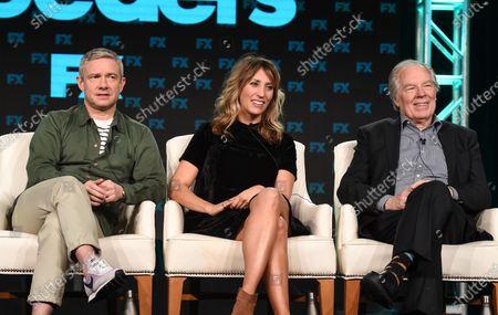 Martin Freeman, Daisy Haggard and Michael McKean
