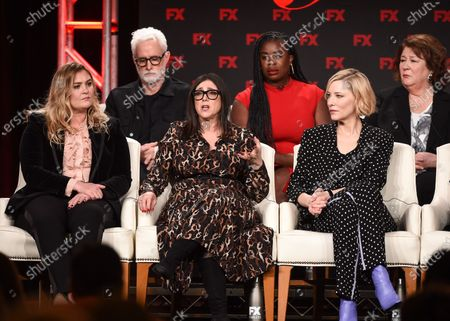 Coco Francini, Stacey Sher, Cate Blanchett, John Slattery, Uzo Aduba and Margo Martindale