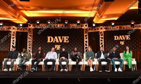 Scooter Braun, Kevin Hart, Saladin Patterson, Jeff Schaffer, Lil Dicky, Davionte 'GaTa' Ganter, Taylor Misiak, Andrew Santino, DJ Taco and Christine Ko
