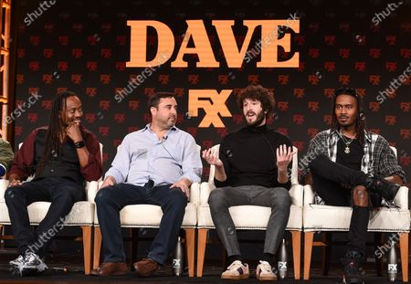 Saladin Patterson, Jeff Schaffer, Lil Dicky and Davionte 'GaTa' Ganter