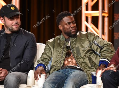 Scooter Braun and Kevin Hart