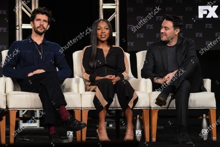 Ben Whishaw, Emyri Crutchfield and Jack Huston