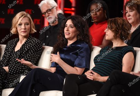 Stock Photo of Cate Blanchett, Dahvi Waller, Anna Boden, John Slattery, Uzo Aduba and Margo Martindale