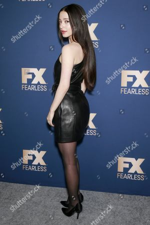 Editorial image of FX Networks TCA Winter Press Tour Star Walk, Arrivals, Los Angeles, USA - 09 Jan 2020
