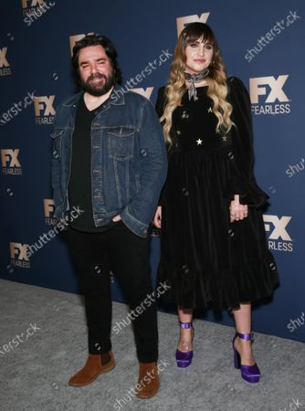 Natasia Demetriou and Matt Berry