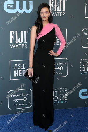 Editorial photo of 25th Annual Critics' Choice Awards, Arrivals, Barker Hanger, Los Angeles, USA - 12 Jan 2020