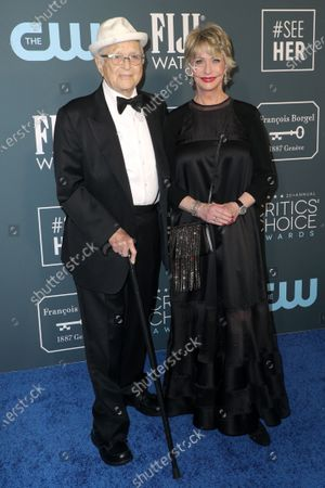 Stock Photo of Norman Lear and Lyn Lear