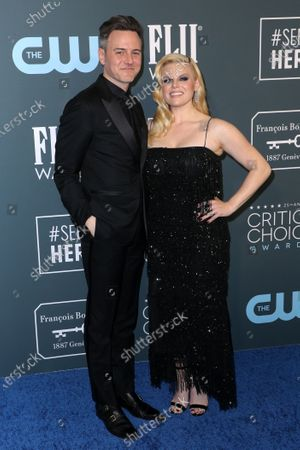Stock Image of Brian Gallagher and Megan Hilty