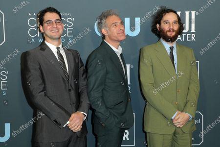 Ben Safdie, Ronald Bronstein and Joshua Safdie