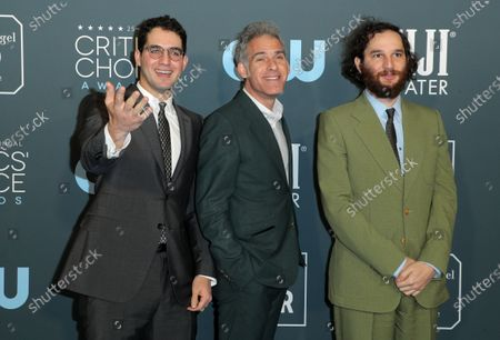 Ben Safdie, Ronald Bronstein and Joshua Safdie