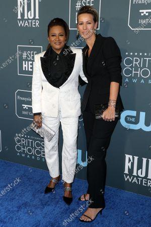 Stock Photo of Wanda Sykes and Alex Sykes