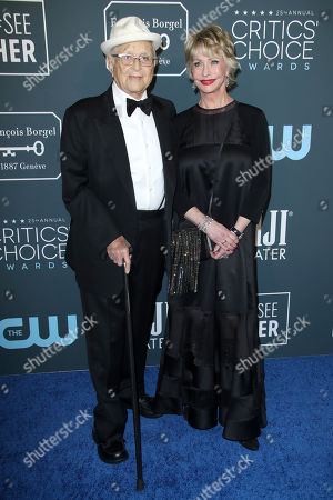 Stock Picture of Norman Lear and Lyn Lear