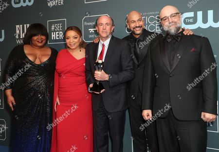 Editorial picture of 25th Annual Critics' Choice Awards, Press Room, Barker Hanger, Los Angeles, USA - 12 Jan 2020