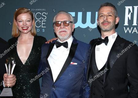 Editorial photo of 25th Annual Critics' Choice Awards, Press Room, Barker Hanger, Los Angeles, USA - 12 Jan 2020