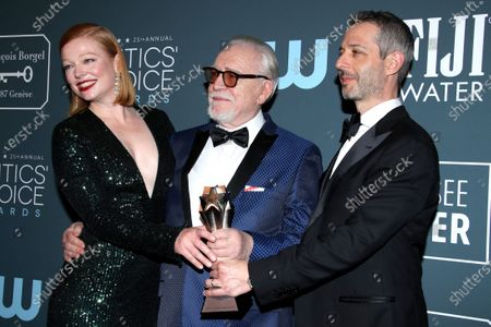 Editorial photo of 25th Annual Critics' Choice Awards, Press Room, Barker Hanger, Los Angeles, USA - 12 Jan 2020