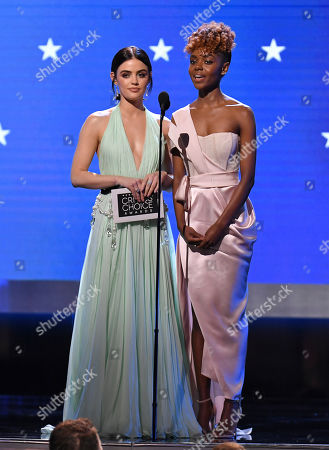 Lucy Hale and Ashleigh Murray