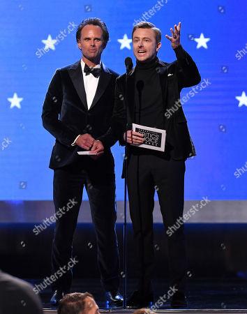 Stock Image of Walton Goggins and Chris Hardwick