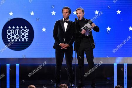 Editorial photo of 25th Annual Critics' Choice Awards, Show, Barker Hanger, Los Angeles, USA - 12 Jan 2020