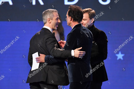 Jeremy Strong - Best Actor in a Drama Series - Succession, Walton Goggins and Chris Hardwick