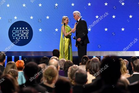 Stock Photo of Kristen Bell - #SeeHer Award and Ted Danson