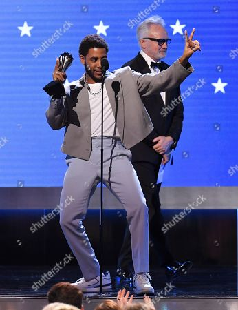 Bradley Whitford and Jharrel Jerome - Best Actor in a Limited Series or Movie Made for Television - When They See Us