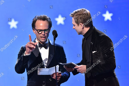 Stock Picture of Walton Goggins and Chris Hardwick