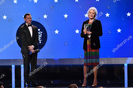 Stock Photo of Billy Crudup - Best Supporting Actor in a Drama Series - The Morning Show and Jean Smart - Best Supporting Actress in a Drama Series - Watchmen