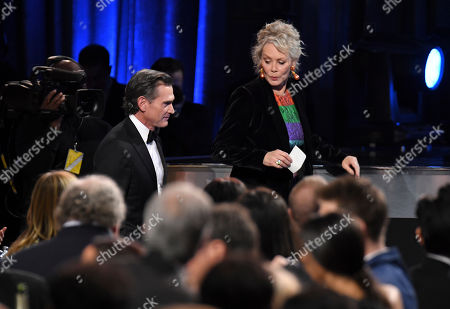 Stock Picture of Billy Crudup - Best Supporting Actor in a Drama Series - The Morning Show and Jean Smart - Best Supporting Actress in a Drama Series - Watchmen