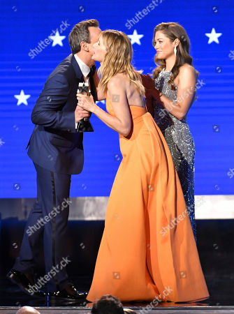 Seth Meyers and Laura Dern - Best Supporting Actress - Marriage Story
