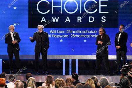 Robert De Niro, Harvey Keitel, Al Pacino and Sebastian Maniscalco - Best Ensemble - The Irishman